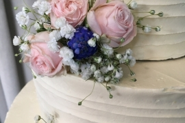 Buttercream WEdding Cake Close up - Copy - Copy - Copy