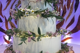 Full Image of 3 Tiered Rustic Wedding Cake - Copy - Copy