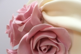 Close up of Sugar Roses