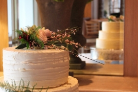 3 Tiered Buttercream Wedding Cake